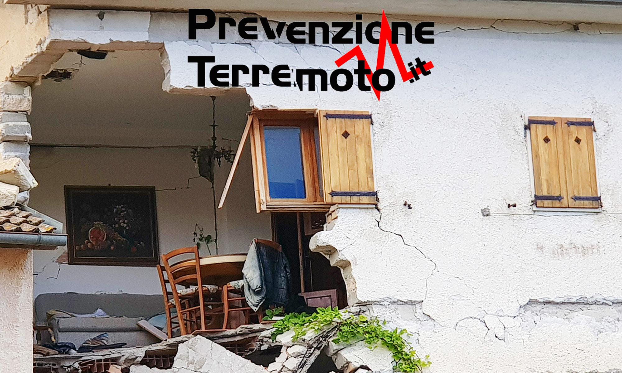 PREVENZIONE TERREMOTO
